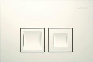 115.135.11.1 Клавиша Geberit Delta 50, белая, пластик, 246*164мм
