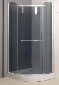 N0269 Душевой уголок SaniPro Denver 90 х 90 х 195, стекло прозрачное