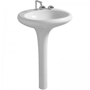 4261B403-0041 Раковина Vitra Istanbul монолит 60 см с 1 отверстием, Vitra Clean, цвет белый