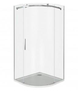 АЛ00006 Душевое ограждение Good Door Altair R-100-C-CH 100 х 100 х 195 см,, стекло прозрачное, хром