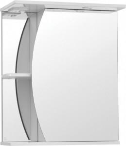 Зеркало-шкаф Style Line Эко Волна Камелия 60/С белый