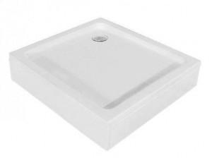16180100-11 Душевой поддон RGW Style KV 100 x 100 см акриловый, квадратный, цвет белый