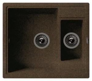 20.210.D0580.105 Мойка кухонная Florentina Липси 580К коричневый