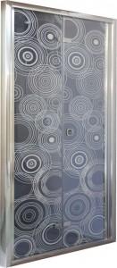 D91 Душевая дверь Cerutti 90x195 см в нишу складная, стекло тонированное