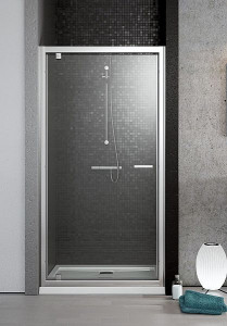 382001-01 Душевая дверь в нишу Radaway Twist 80 прозрачное стекло