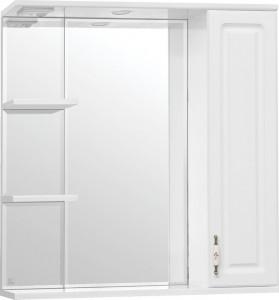 Зеркало-шкаф Style Line Олеандр-2 75/С Люкс, белый