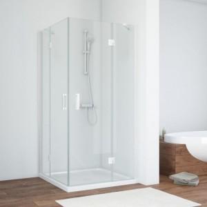 AFA 0120 01 01 Душевой уголок Vegas Glass AFA, 120 х 120 см, белый, стекло прозрачное