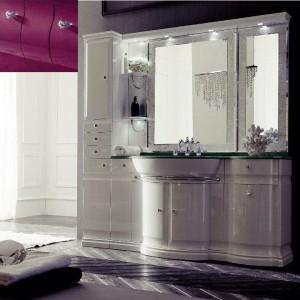 Комплект мебели Eurodesign Luxury Композиция № 1, Prugna Lucido/Сливовый глянцевый