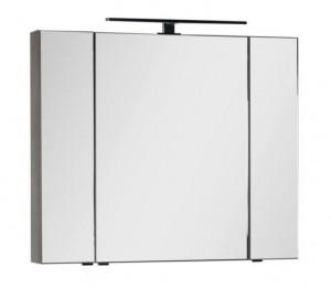 Зеркало-шкаф Aquanet Эвора 100 00182998, цвет дуб антик