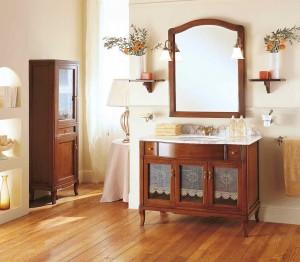 Комплект мебели Labor Legno VICTORIA Composizione H 104, орех/бронза, 105 см