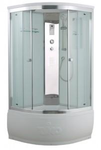 T-8890 C Душевая кабина Timo Comfort Clean Glass стекло прозрачное 90x90 см