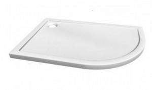 Asymmetric 100*80-L Душевой поддон Relisan Asymmetric 100 x 80 см, из искусственного камня