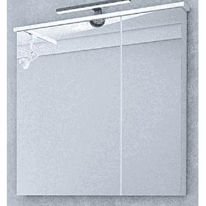 Зеркало-шкаф Акватон Брук 80 со светильником, 1A200602BC010