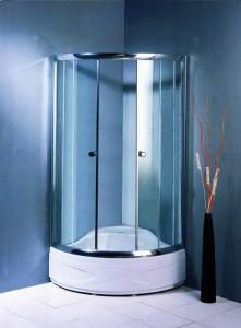 TS-173 Душевой уголок Appollo 90 х 90 х 200 см, стекло прозрачное