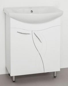 ЛС-00000009 Тумба под раковину Style Line Амелия 65, белая