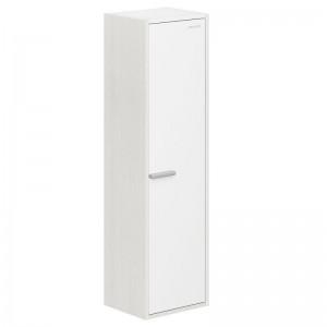 Шкаф-пенал Edelform Marino 33, цвета: белый, выбеленный дуб