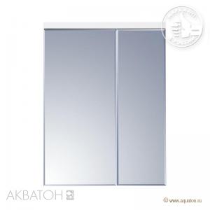 Шкаф-зеркало Акватон Брук 60 со светильником, 1A200502BC010