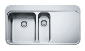 127.0275.577 Мойка Franke SINOS SNX 251,, установка сверху, SlimTop, левая, нержавеющая сталь, полированная, 96,5*51 см