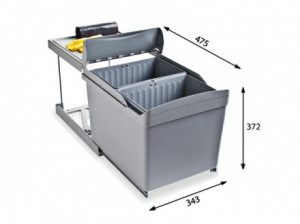 Система сортировки мусора Alveus Albio 30 1090336