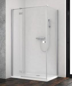 385044-01-01L/384050-01-01 Душевой уголок Radaway Essenza New KDJ 90 x 90 см, левая дверь