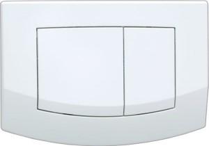 9240240 Панель TECE Ambia 9 240 240 с двумя клавишами смыва, белая