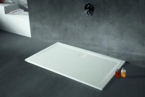 4185xA Душевой поддон Hoesch MUNA 110 x 90 x 3 см, прямоугольный, из искусственного камня