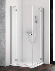 385061-01-01L/385060-01-01R Душевой уголок Radaway Essenza New KDD 80 x 90 см, стекло прозрачное