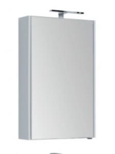 Зеркало-шкаф Aquanet Августа 00210008 58x90 см настенное, цвет белый