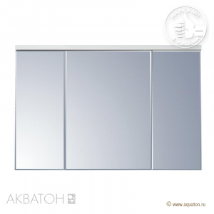 Шкаф-зеркало Акватон Брук 120 см 1A200802BC010 со светильником