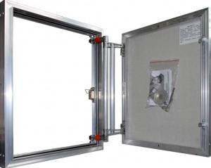 ЕТР50/50 Сантехнический люк Практика Евроформат ЕТР ширина 50, высота 50