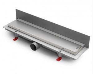 ALP-850KN2 Душевой водоотводящий желоб с рамкой Alpen Klasic/Floor пристенный, хром глянцевый