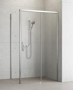 387040-01-01R/387051-01-01L Душевой уголок Radaway Idea KDJ 100 x 80 правый, стекло прозрачное