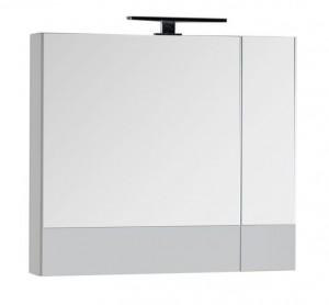 Зеркало-шкаф Aquanet Верона 75 (камерино) 00175381, цвет белый