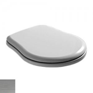 109001 bi/cr Крышка-сиденье Kerasan Retro 109001 standart, белый/хром