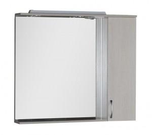 Зеркало-шкаф Aquanet Донна 100 00169184, цвет белый дуб
