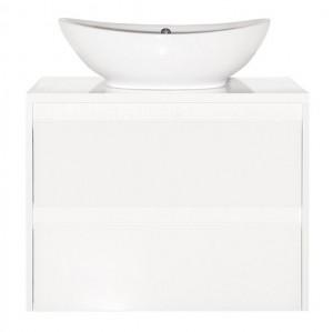 ЛС-00000623 Тумба под раковину Style Line Монако 70 Plus, осина белый/белый лакобель