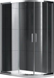 S30222 Душевой уголок Gemy Victoria, 100 х 80 х 190 см, стекло прозрачное