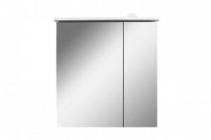 M70AMCL0601WG AM.PM SPIRIT 2.0, Зеркальный шкаф с LED-подсветкой, левый, 60 см, белый, глянец