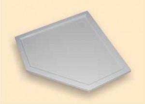 210602.055 Душевой поддон Huppe PURANO 100 x 100 x h4 см,, из искусственного камня