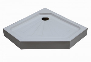 P91 Душевой поддон Cerutti 90x90 см пятиугольный