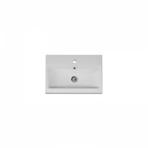M90WCC0602WG AM.PM GEM, Раковина мебельная, керамическая, 60 см, встроенная, белый, глянец
