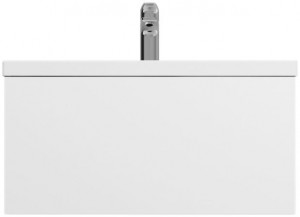 M90FHX07521WG Тумба под раковину Am.Pm Gem 75 см подвесная с 1 ящиком, цвет белый