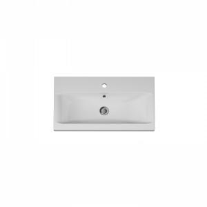 M90WCC0752WG AM.PM GEM, Раковина мебельная, керамическая, 75 см, встроенная, белый, глянец