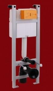 ML.EXE-27.664 Система инсталляции Migliore Expert eve для подвесного унитаза (крепление стена-пол, без панели и ручки)