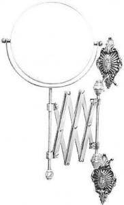 Настенное косметическое зеркало Migliore Elizabetta ML.ELB.CR-60.119.CR