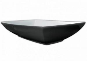 JZL002 01;50 Раковина ArtCeram Jazz, черно-белая