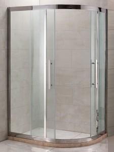 PR-120SL Душевой уголок Grossman Pragma/R, 120 x 80 x 200 см, стекло прозрачное, цвет профиля - серебро
