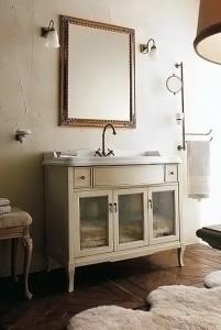 Комплект мебели Labor Legno VICTORIA Composizione H 107, бежевый с патиной/бронза, 105 см