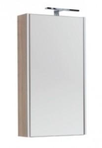 Зеркало-шкаф Aquanet Августа 00210049 50x90 см настенное, дуб сонома
