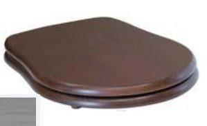 109040 noc/cr Крышка-сиденье Kerasan Retro 109040 standart, орех/хром